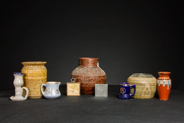 Mugs and Vases with Ornaments