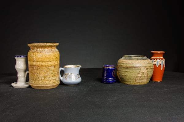 A Fine Art Photograph of Interesting Cups and Vases by Michael Pucciarelli