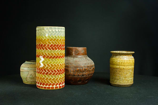 A Fine Art Photograph of Exotic Vases by Michael Pucciarelli