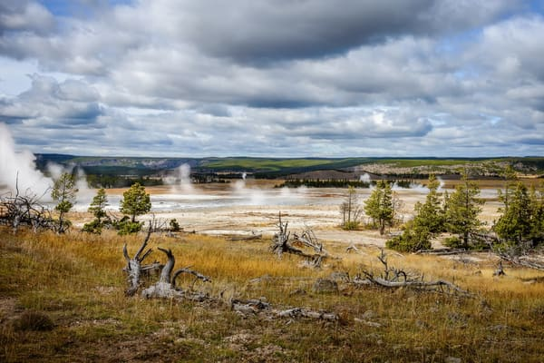 Yellowstone's Geyser Basin