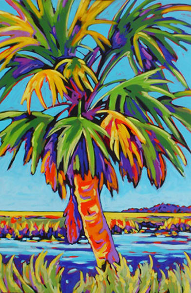 Pine Island Palm | Sally C. Evans Fine Art