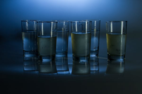 Fine Art Photographs of Drinking Cups With Reflections, by Michael Pucciarelli