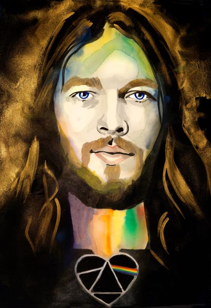 David Gilmour Art | William K. Stidham - heART Art