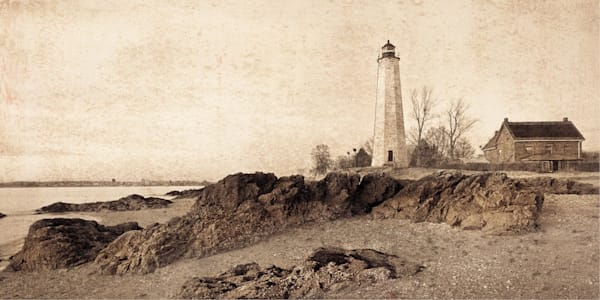 Vintage Light House Point