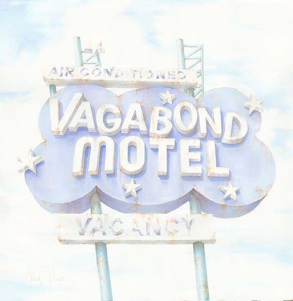 The Vagabond Motel Art | Hillary Parker Watercolors