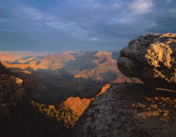 Breath taking view of the Grand Canyon National Park