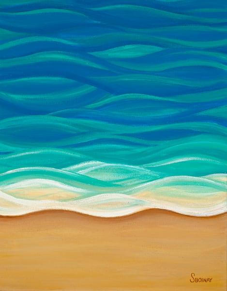 Hawaii Art  |  Serenity by Stephanie Boinay