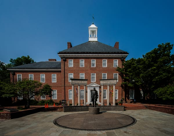 Fine Art Photograph of Court in Annapolis