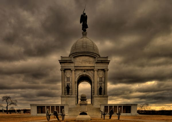 Fine Art Photograph of the Gettysburg National Monument by Michael Pucciarelli