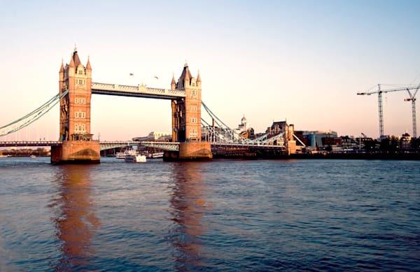 Fine Art Photograph of London Tower Bridge by Michael Pucciarelli