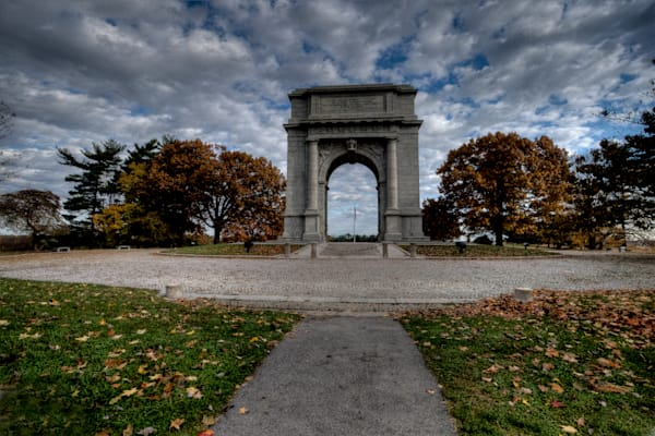 Fine Art Photographs of Valley Forge National Monument by Michael Pucciarelli