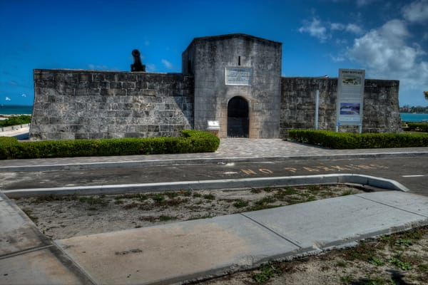 A Fine Art Photograph of Fort Montague by Michael Pucciarelli