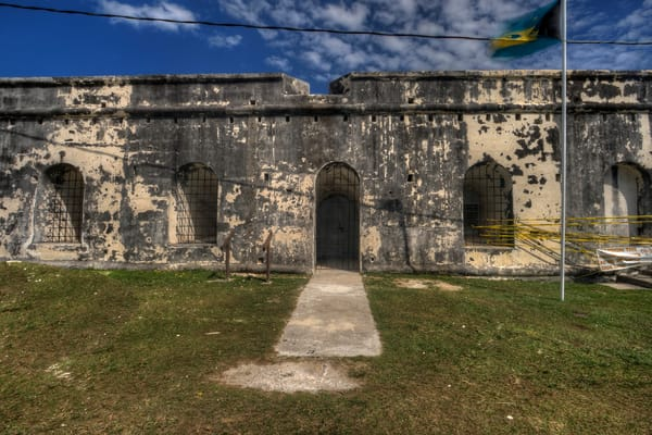 Fort Charlotte Fine Art Photograph by Michael Pucciarelli