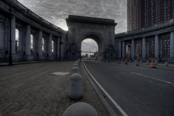 Fine Art Photograph of the Manhattan Bridge by Michael Pucciarelli