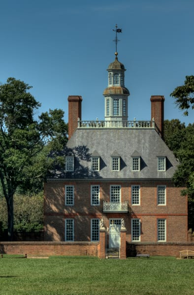 A Historic Colonial Williamsburg Fine Art Photograph by Michael Pucciarelli