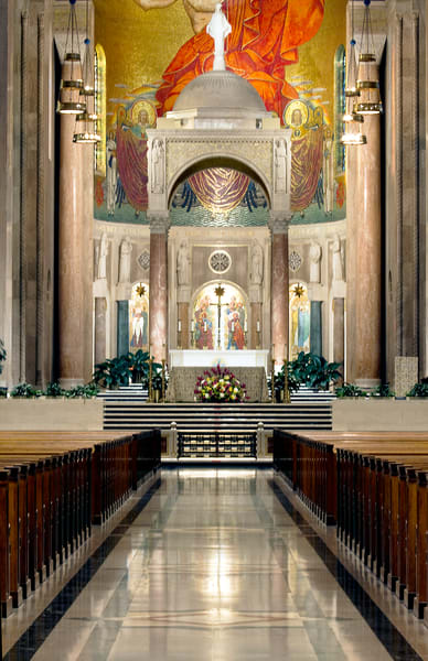Fine Art Photograph of the Basilica by Michael Pucciarelli
