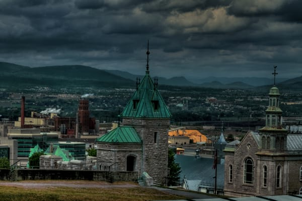 Fine Art Photograph of Quebec by Michael Pucciarelli