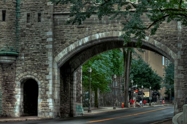 Fortifications of Quebec Fine Art Photograph by Michael Pucciarelli