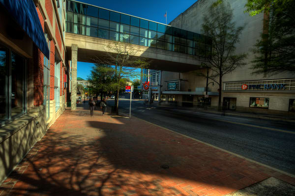 Fine Art Photograph of Downtown Sunny Silver Spring by Michael Pucciarelli