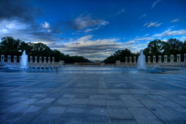 Fine Art Photograph of World War II Memorial by Michael Pucciarelli