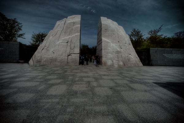 Martin Luther King Memorial Fine Art Photograph by Michael Pucciarelli