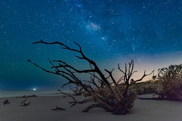 Boneyard Beach at Night
