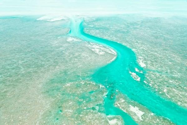 Turquoise River Photography Art | DE LA Gallery