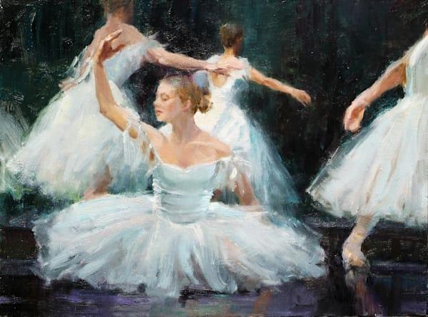 Eric Wallis impressionism dancers