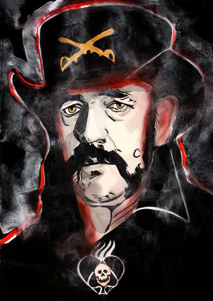 Lemmy Art | William K. Stidham - heART Art