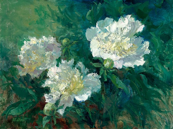 Peonies In The Morning, Joe Anna Arnett