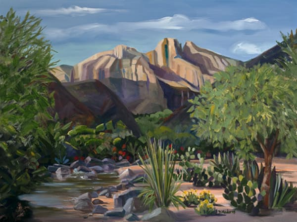 Canyon Stream | Southwest Art Gallery Tucson | Madaras