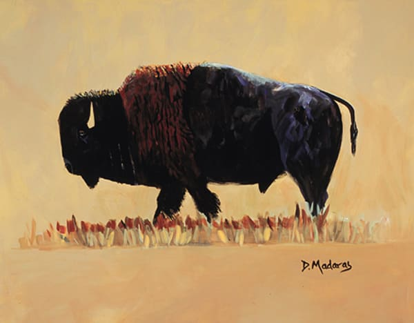 Kingpin Bison | Southwest Art Gallery Tucson | Madaras