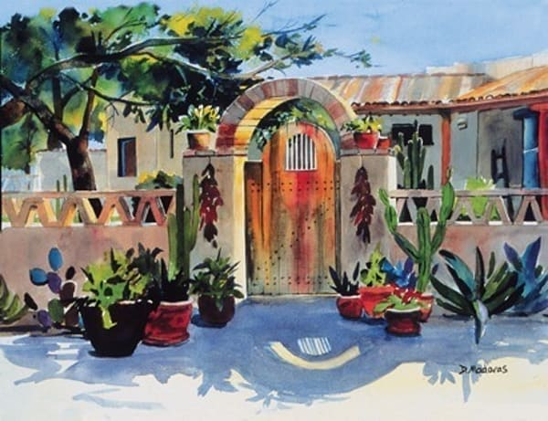 Lisa's Gate | Southwest Art Gallery Tucson | Madaras