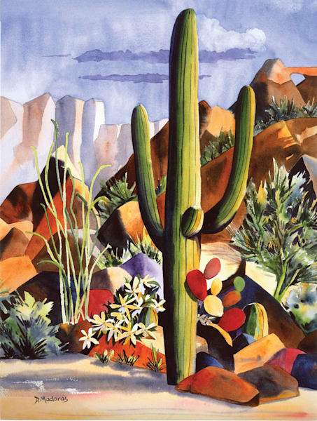 One Purple Rock | Southwest Art Gallery Tucson | Madaras