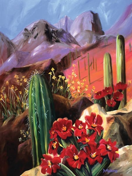 Promise of Spring | Southwest Art Gallery Tucson | Madaras