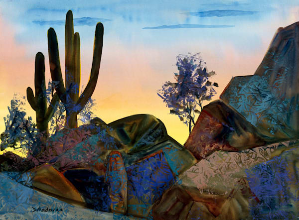 Silhouette | Southwest Art Gallery Tucson | Madaras