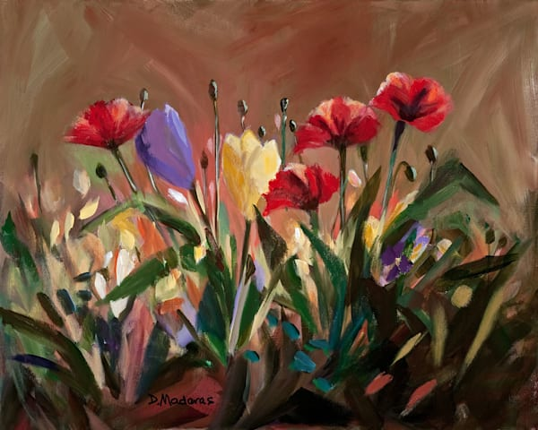 Yellow Tulip | Southwest Art Gallery Tucson | Madaras