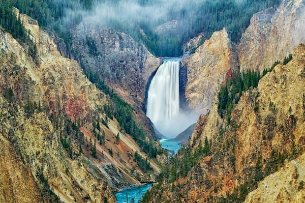 Yellowstone Falls Art | Fine Art New Mexico