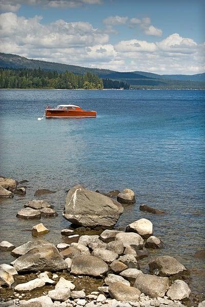 Retro Wooden Boat