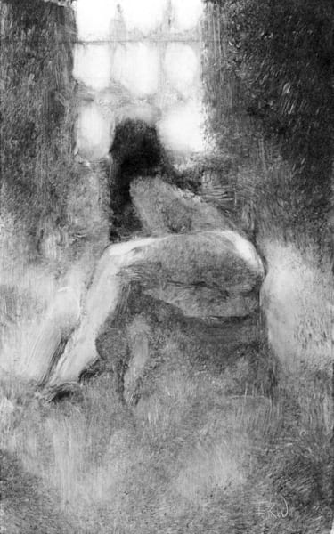 nude figure drawing Wallis