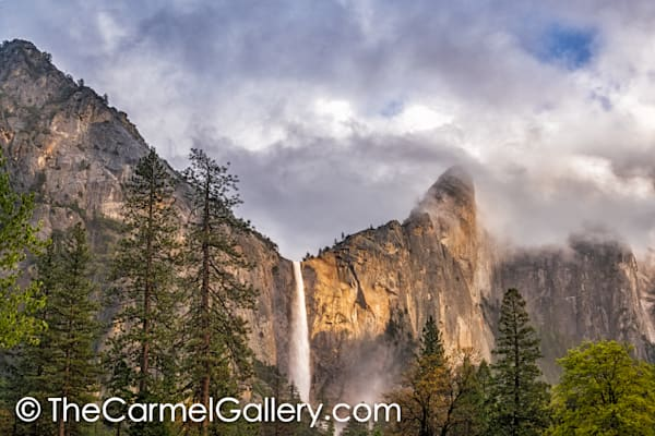 Evening Light on Bridalveil Falls