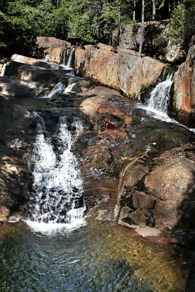 New England, Waterfall Cascade