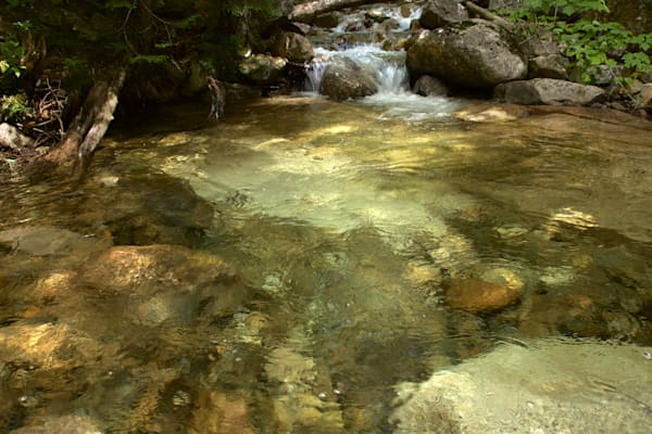 Clear Water Basin, Waterfall