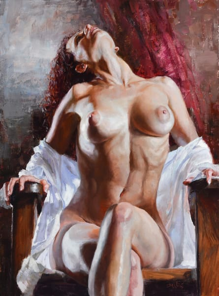Nude woman Eric Wallis