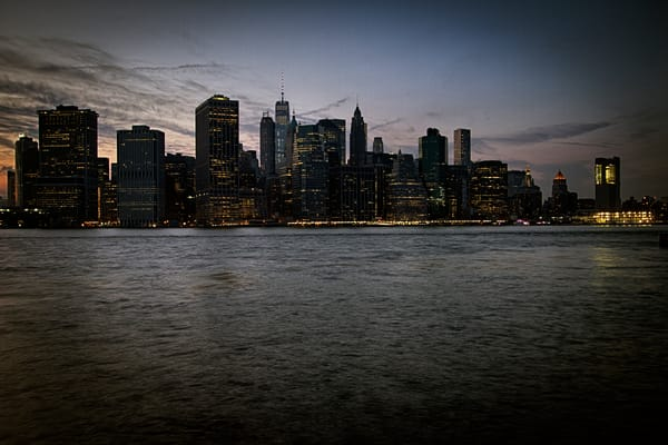 Fine Art Photograph of Manhattan by Michael Pucciarelli