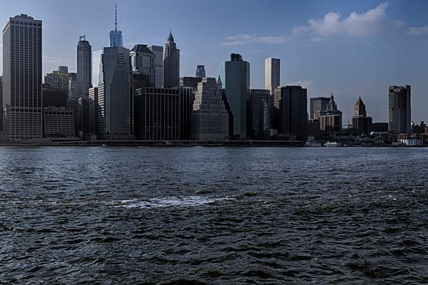 Fine Art Photograph of Sunny Manhattan by Michael Pucciarelli