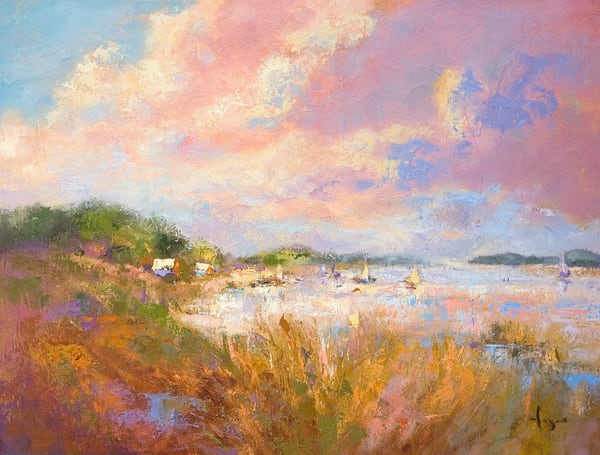Best Virginia Landscape Paintings by Virginia Artist Dorothy Fagan