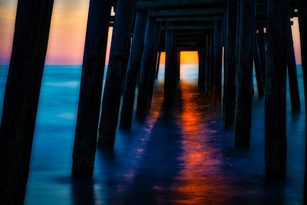 Virginia Beach Pier #2 Fine Art Photograph | JustBob Images