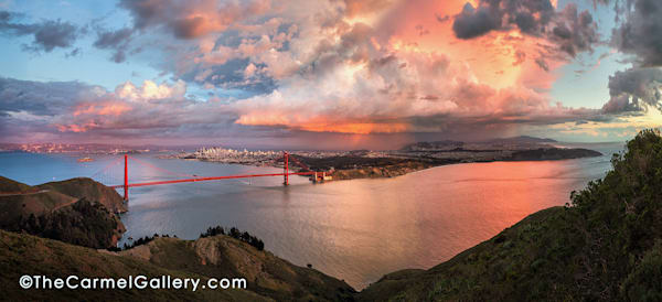 Grand Sunset San Francisco Art | The Carmel Gallery