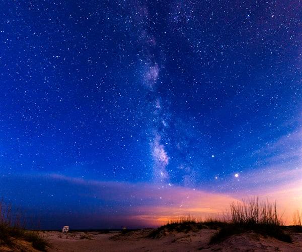 Tybee Island Milky Way View